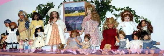 Puppen von Sibylle Sielaff